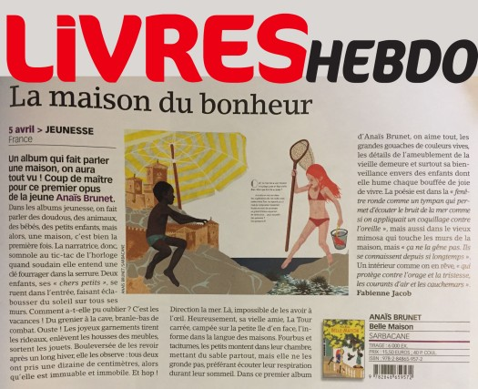 Belle Maison_Livres Hebdo